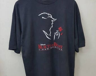 Vintage Beauty And The Beast A New Musical By Disney T-shirt