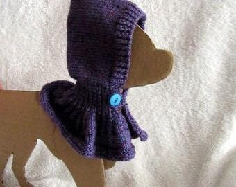 cowl hood for chihuahua