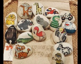 Jungle Story Stones