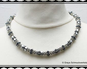 """Pattern for necklace """"Lucia"""" [English]"""