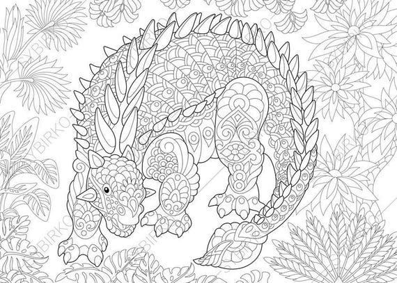 ankylosaurus dinosaur dino coloring pages animal coloring. Black Bedroom Furniture Sets. Home Design Ideas