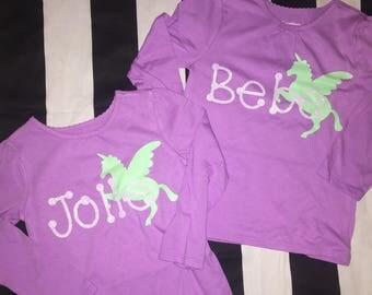 Personalized Unicorn Shirts