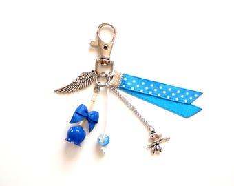 Bag charm - love blue Lexfimo Apple