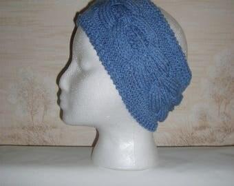 Knit women headband, ear warmer headband