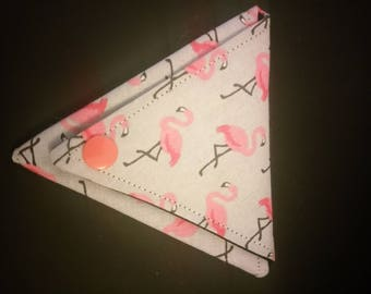 Origami Flamingo coin purse