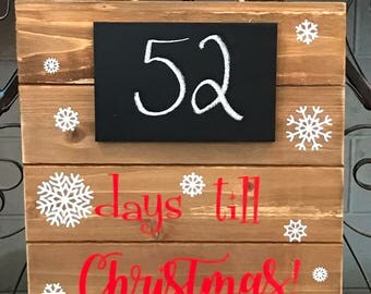 Countdown Sign! Chalkboard sign