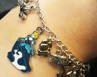 Cinderella Disney Charm Bracelet