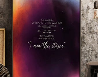 i am the storm etsy