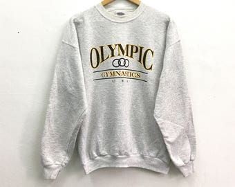 Olympic Gymnastics USA Big Logo Spell out XL size