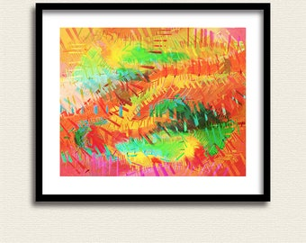 Abstract Expressionism 5 – Abstract Art - Original Art - Downloadable Art Print - Instant Download –  Wall Decor