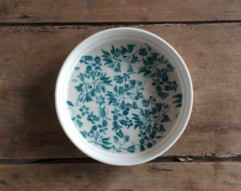 Small floral plate
