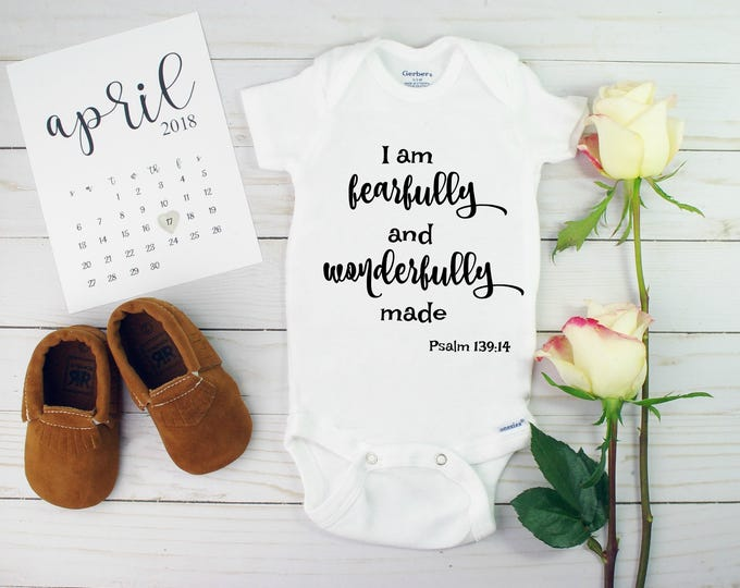 Pregnancy Announcements - Bible verse