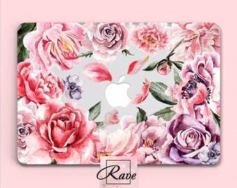 laptop CASE flowers laptop case floral flower macbook case macbook air case Macbook pro 13 case 2017 macbook pro macbook 2017 skin Mac Book