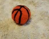 Newborn Basketball - Felted Basketball - Basketball Photo Prop - Sports Photo Prop