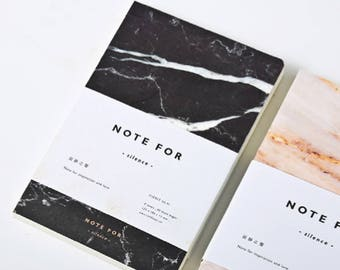 Marble Notebook - Marble Journal