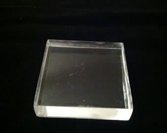 Acrylic Block  - Set of 2