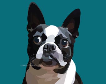 Custom Pop Art Pet Portrait