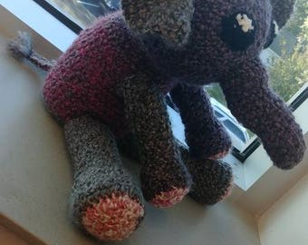 Crocheted stuffed toys (: