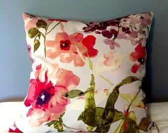 Gorgeous Floral Throw Pillow