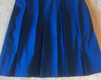 Skirt, Box Pleat