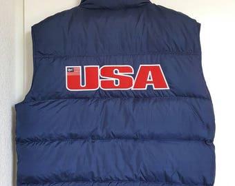 Jacket / sleeveless Vintage 90s Reebok jacket size L.