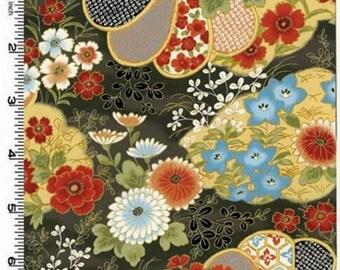 Japanese PATCHWORK KONA BAY HANA 02 DESIGN fabric