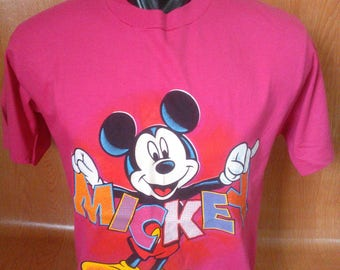 Vintage Mickey Mouse Florida Tshirt Vintage Mickey Mouse Made in USA