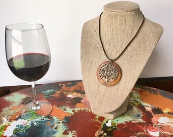 Boho Tree Pendant Necklace