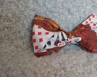 Poker Mania Bow Tie