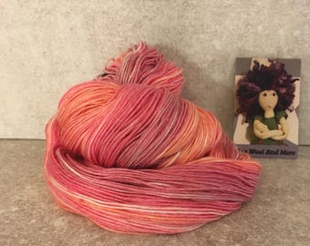 Summer! Hand dyed yarn.