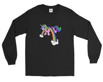 Halfricorn Long Sleeve T-Shirt