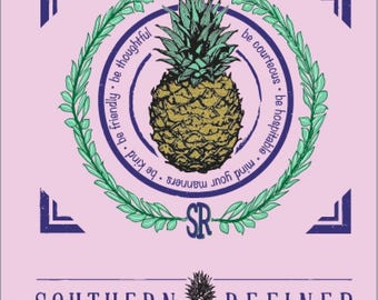 Southern Refined Pineapple T-Shirt