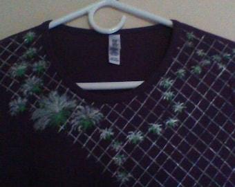Purple ladies T-shirt