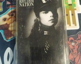 Janet Jackson's Rhythm Nation 1814 cassette
