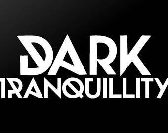 Dark Tranquillity Vinyl Decal Car Window Laptop Death Metal Band Sticker