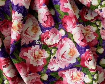 Northcott Studio Peony Passion by Lynnea Washburn - Sold by the Yard