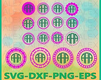 70% OFF, Circle Monogram Frames SVG, Circle Monogram svg, Monogram Frame svg, png, eps, dxf, Circle Frames, Circle Frames SVG, Round Svg