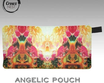 """Small Zippered Pouches - 9""""x4"""""""