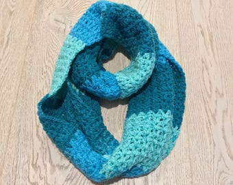 Crochet infinity scarf | ready to ship
