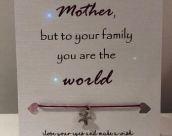 Mother's Day Wish Bracelet