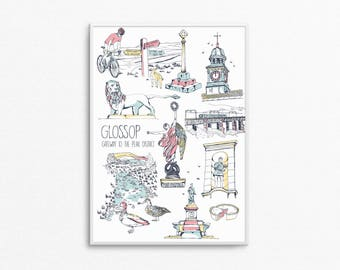 A4 Glossop Print