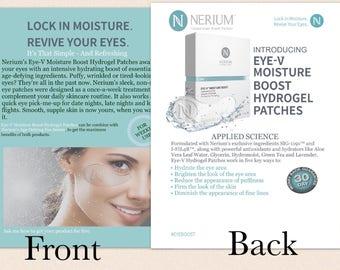 Nerium Eye V Patch Cards
