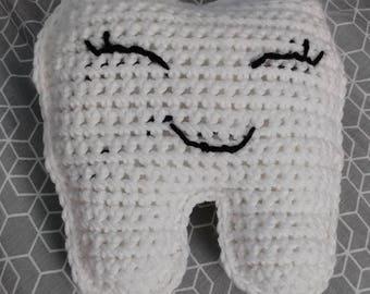 Crochet Tooth Pillow