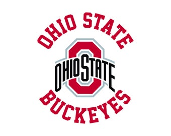 Ohio State Buckeyes Cut Files, Ohio State Buckeyes SVG Files, Ohio Buckeyes SVG Cutting Files, Ohio Buckeyes Cuttable SVG, Instant Download