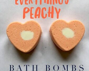 Everything's Peachy Bath Bomb