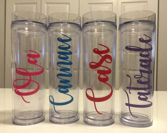 Personalized Tumbler | Bridesmaid Tumbler | Bridesmaid Gift