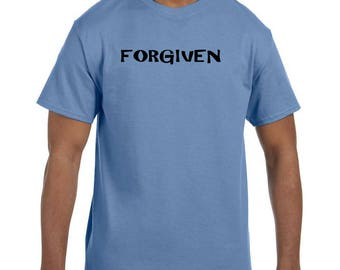Christian Religous Tshirt  Forgiven model xx10289