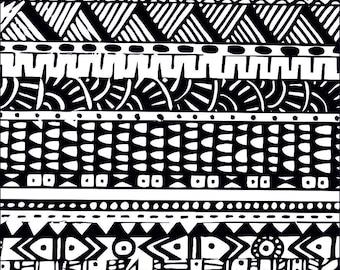 Silk screen  stencil No. 109