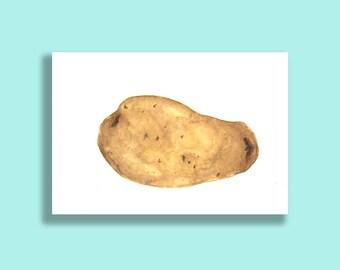 Potato Greetings Card