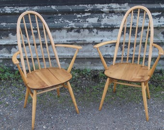 Pair of Ercol Carver Chairs SOLD SOLD SOLD - More coming